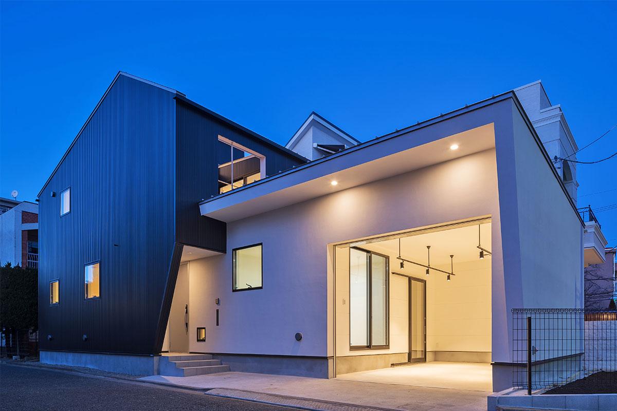 安心な価格保証のデザイン住宅
