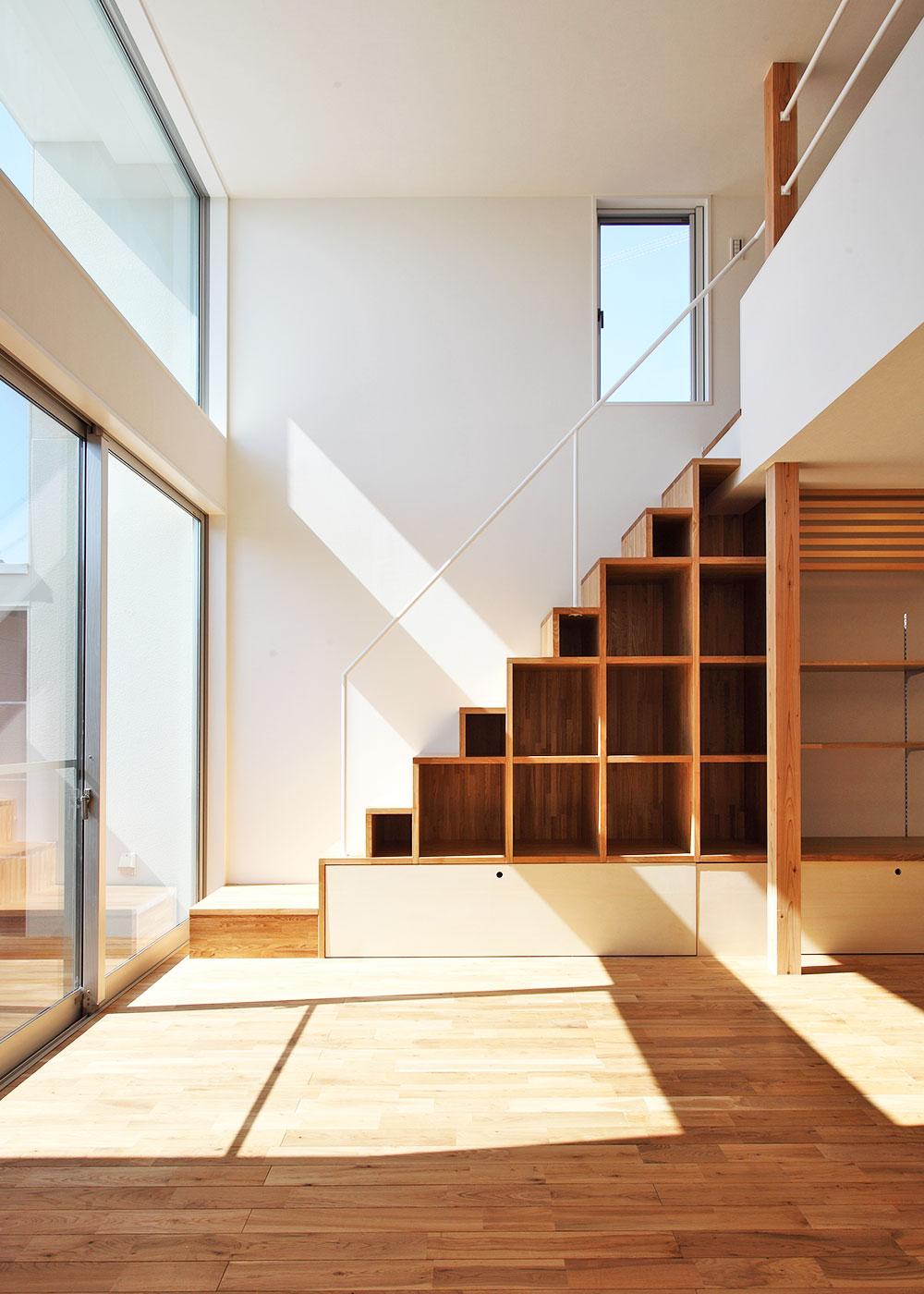 ロフト家具階段